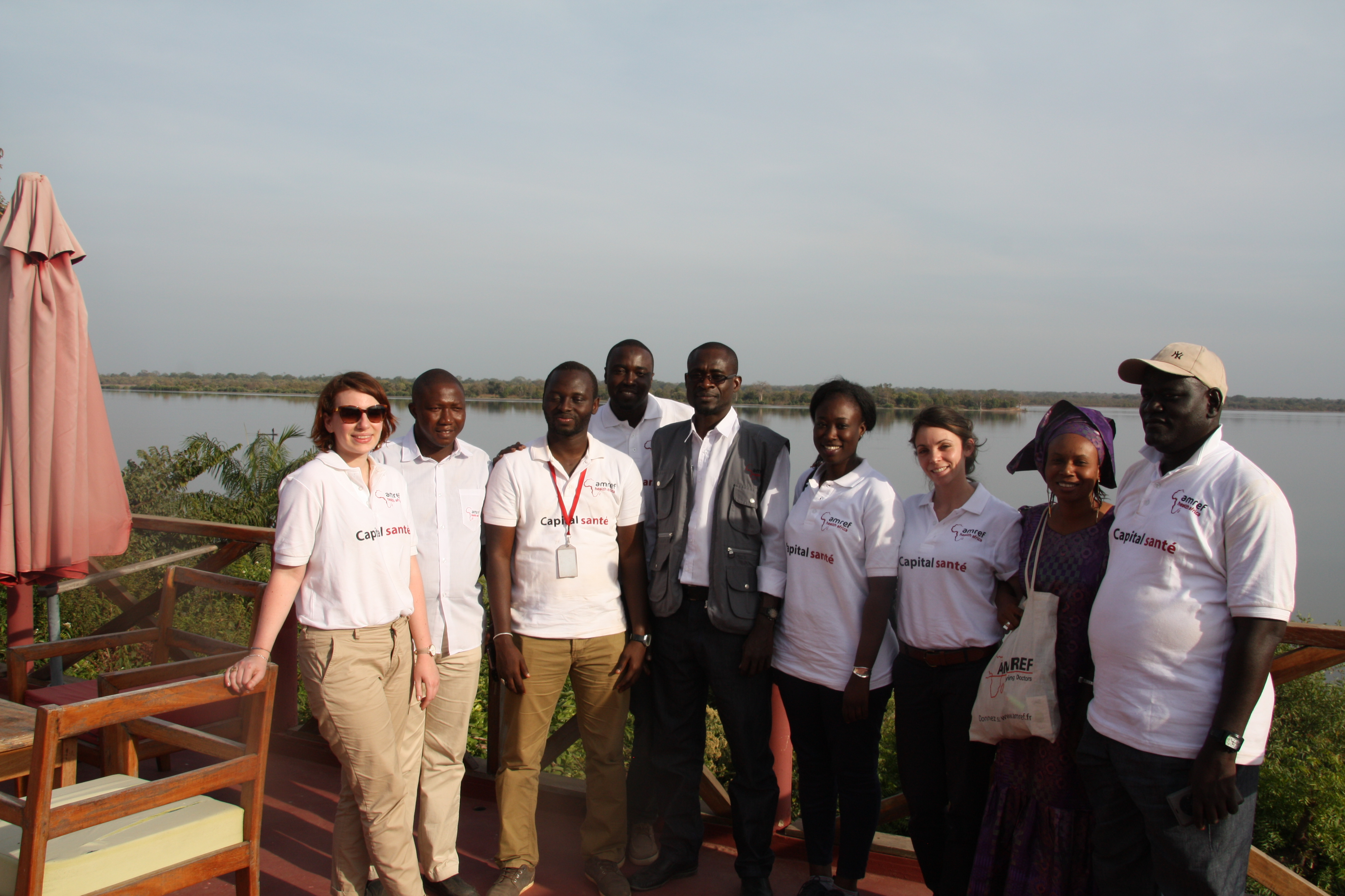 Equipe AMREF France et AMREF Health Africa in West Africa