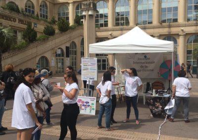 Etudiant.e.s sages-femmes de l'AMESF à Montpellier