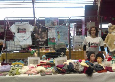 Mylène Defrance et les bénévoles de Tricots d'un jour, tricots toujours