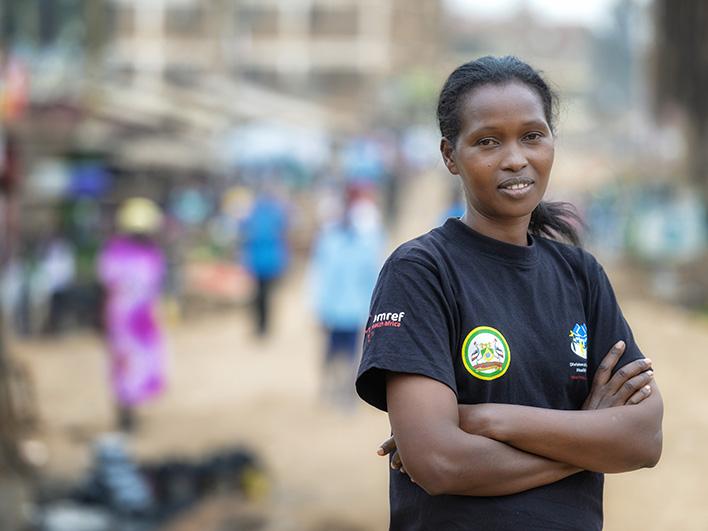 Patricia, agent de santé communautaire