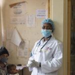 Fridah Mogoi, a Clinical Officer and Facility team