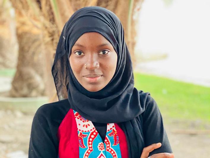 Binta, championne Amref dans la lutte pour l'abolition des Mutilations Sexuelles Féminines au Sénégal