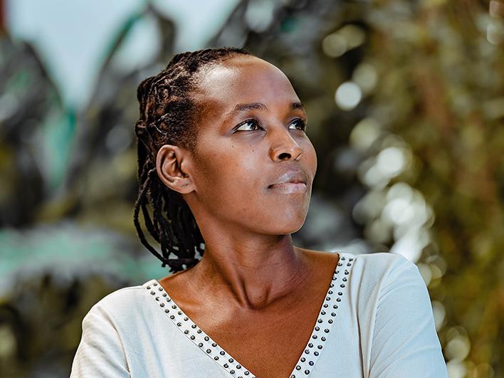 Monica, championne Amref dans la lutte pour l'abolition des Mutilations Sexuelles Féminines en Tanzanie